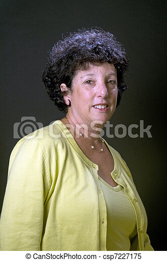 senior executive businees woman - csp7227175