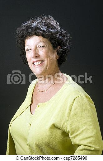 senior executive business woman - csp7285490