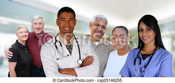 Senior Health Care - csp25146255
