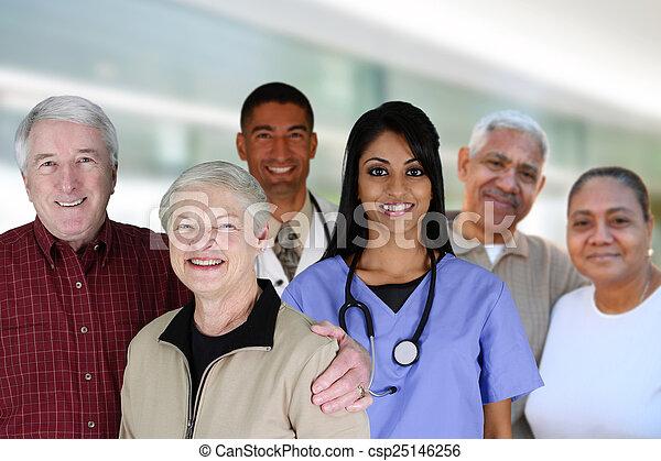 Senior Health Care - csp25146256