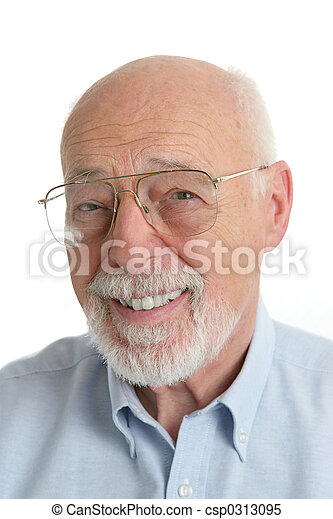 Senior Man Friendly - csp0313095