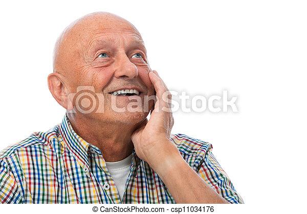 Senior man - csp11034176