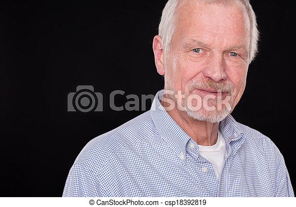 Senior portrait - csp18392819