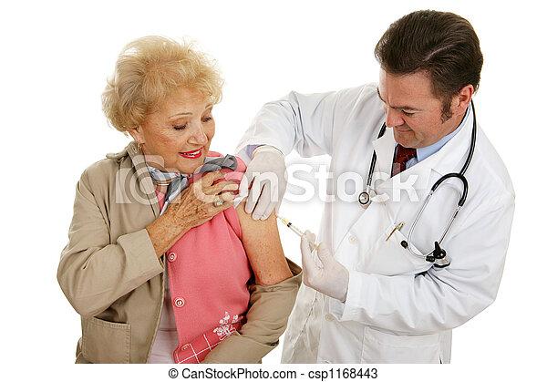 Senior Vaccination - csp1168443