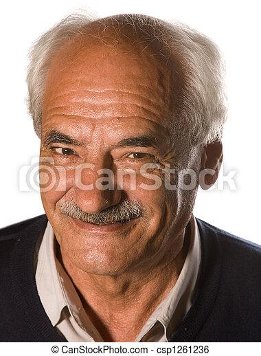 Senior mustache