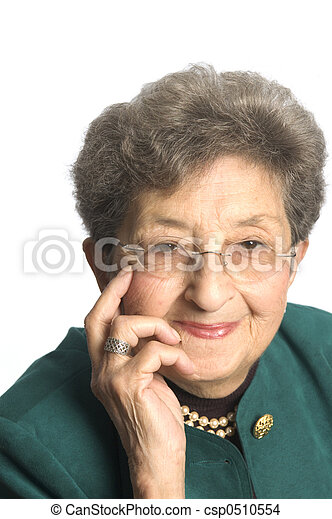 senior woman executive - csp0510554