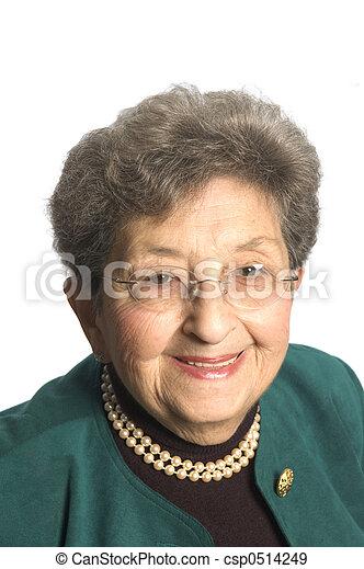 senior woman executive - csp0514249
