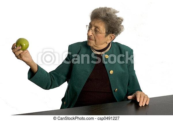 senior woman - csp0491227