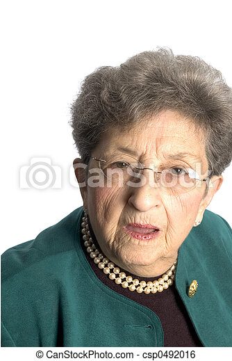senior woman - csp0492016