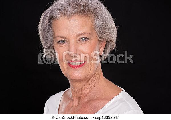 Senior woman - csp18392547