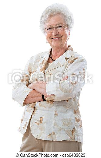 Senior woman - csp6433023