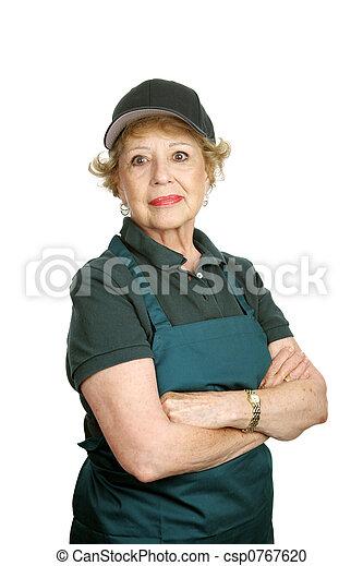 Senior Worker - Personal Pride - csp0767620