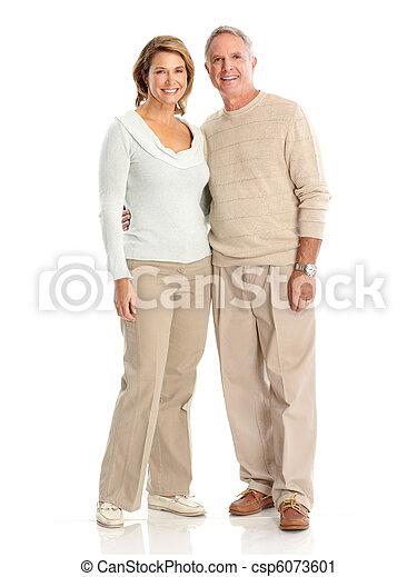 seniores, par - csp6073601