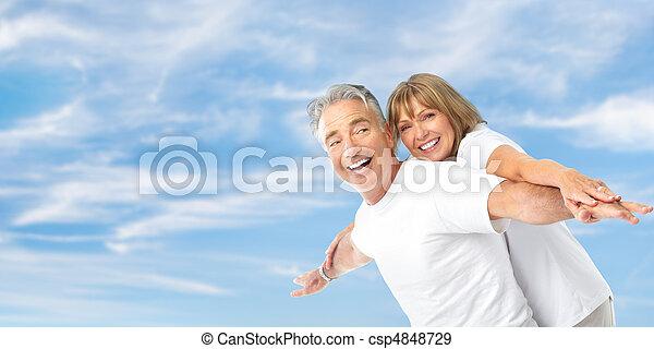 seniores, par - csp4848729