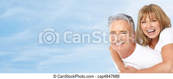 seniores, par - csp4847688