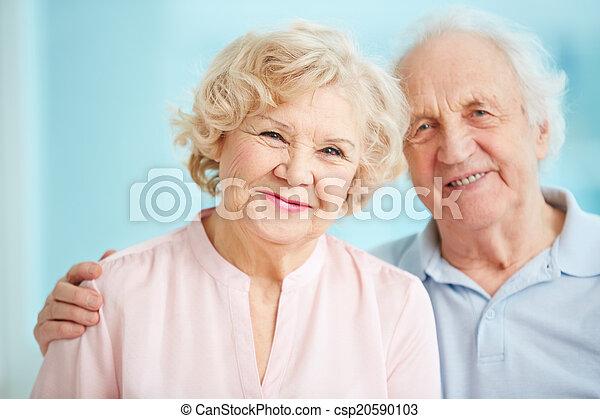 seniors, boldog - csp20590103