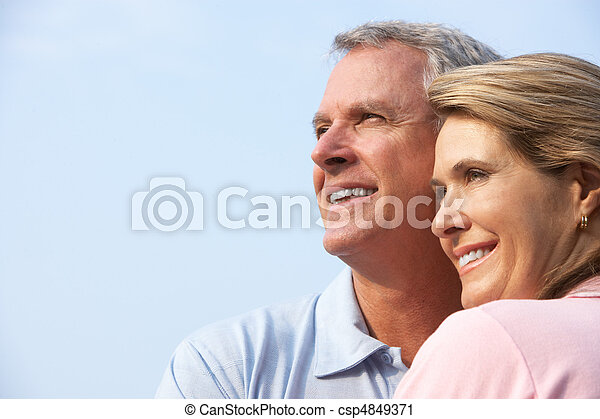 seniors couple - csp4849371