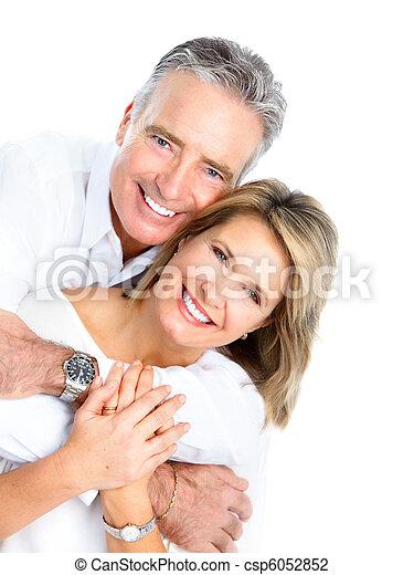 seniors couple - csp6052852