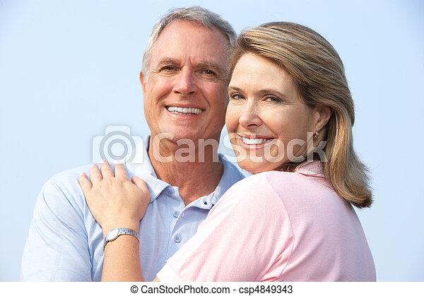 seniors couple - csp4849343