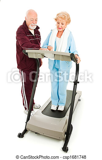 Seniors Exercise Together - csp1681748