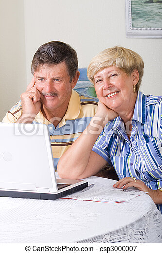 seniors, modern - csp3000007