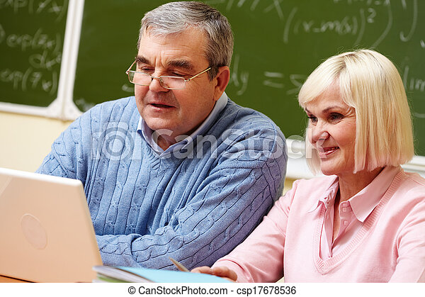 seniors, modern - csp17678536