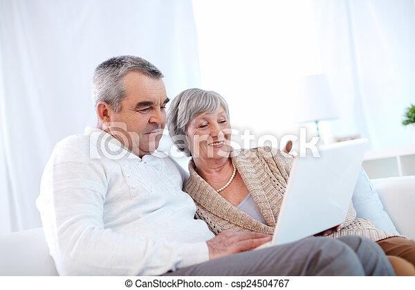 seniors, modern - csp24504767