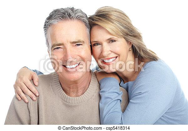 seniors, párosít - csp5418314