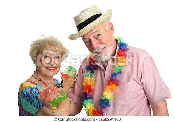 seniors, vacaciones - csp0291160