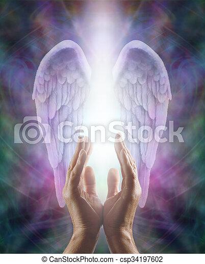 Sensing Angelic Energy - csp34197602