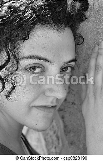 sensitive portrait - csp0828190