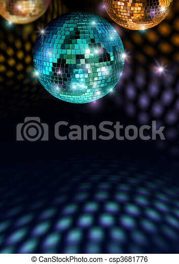 sentiment, coloré, disco - csp3681776
