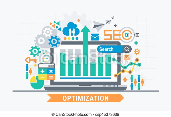 SEO optimization - csp45373689