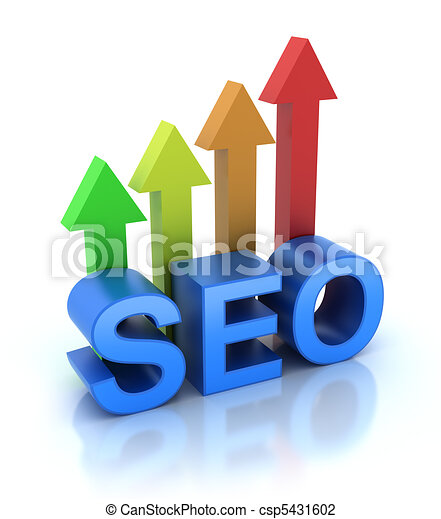 SEO - Search Engine Optimization is - csp5431602