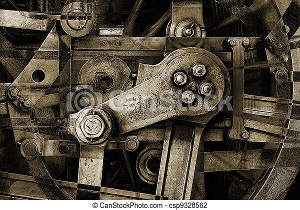 sepia machinery - csp9328562