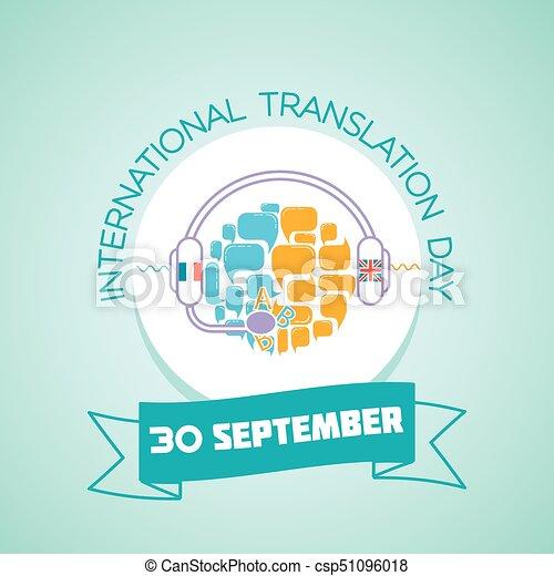 Calendrier Traduction.Septembre International Traduction 30 Jour