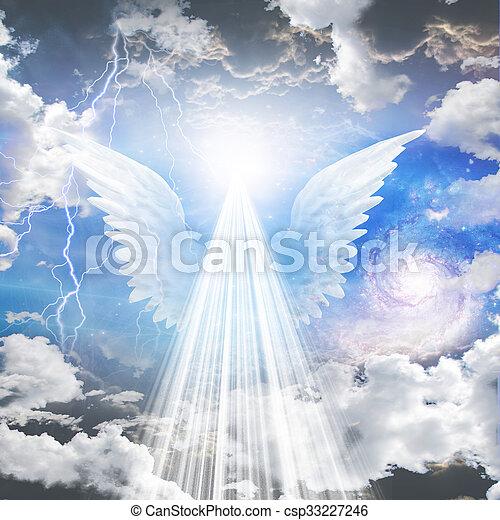 Un ser angelical - csp33227246