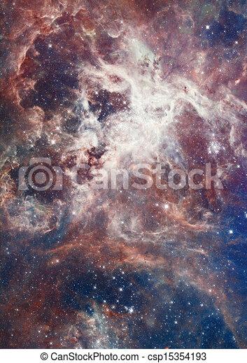 La nebulosa brillaba - csp15354193