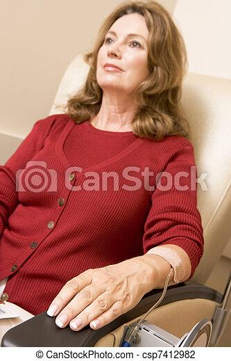 El paciente está siendo monitorizado - csp7412982
