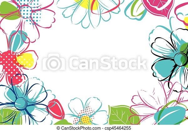 Ser Uso Fundo Coloridos Flowercan Papel Parede Primavera Discount Convite Cupão Comprovante Folheto Modelo Estação Bandeira Cartazes