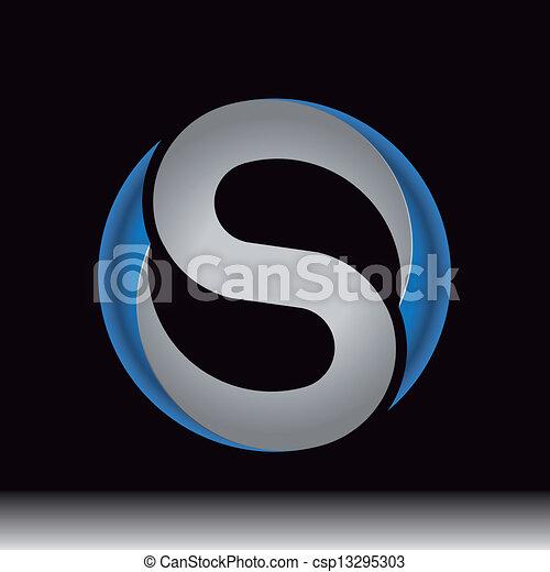 Su carta será usada como icono, logo o emblema - csp13295303