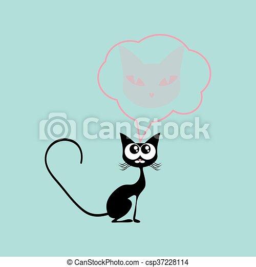 Czarny Kot Grafika