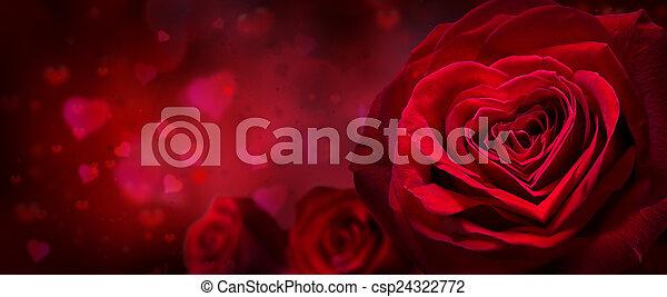 serca, valentine, zaproszenie - csp24322772