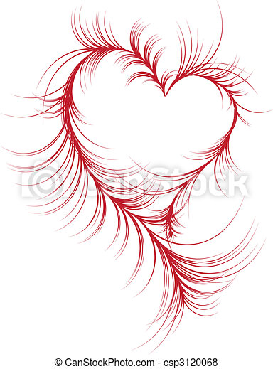 serce, abstrakcyjny - csp3120068