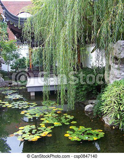 serene beauty - csp0847140