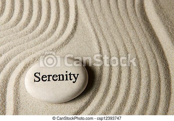 Serenity - csp12393747