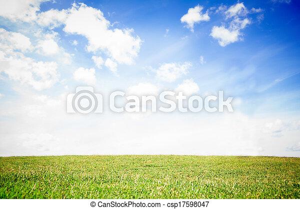 sereno, paisagem - csp17598047