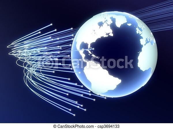 serie, affari globali - csp3694133