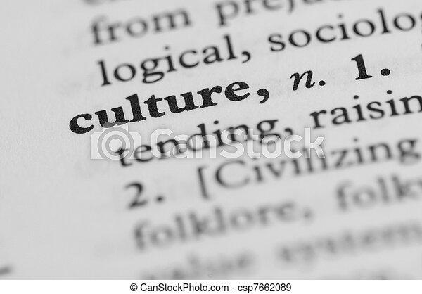serie, -, dizionario, cultura - csp7662089
