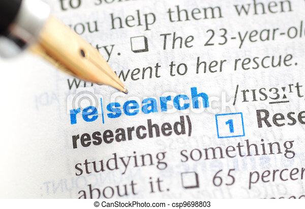 serie, -, dizionario, ricerca - csp9698803